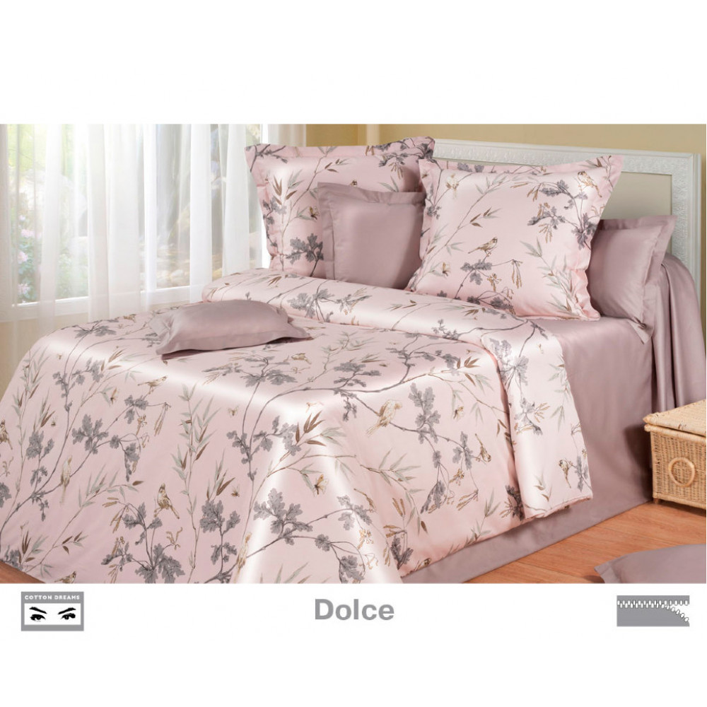 Cotton Dreams «Dolce» евро макси (king size) с наволочками 70x70