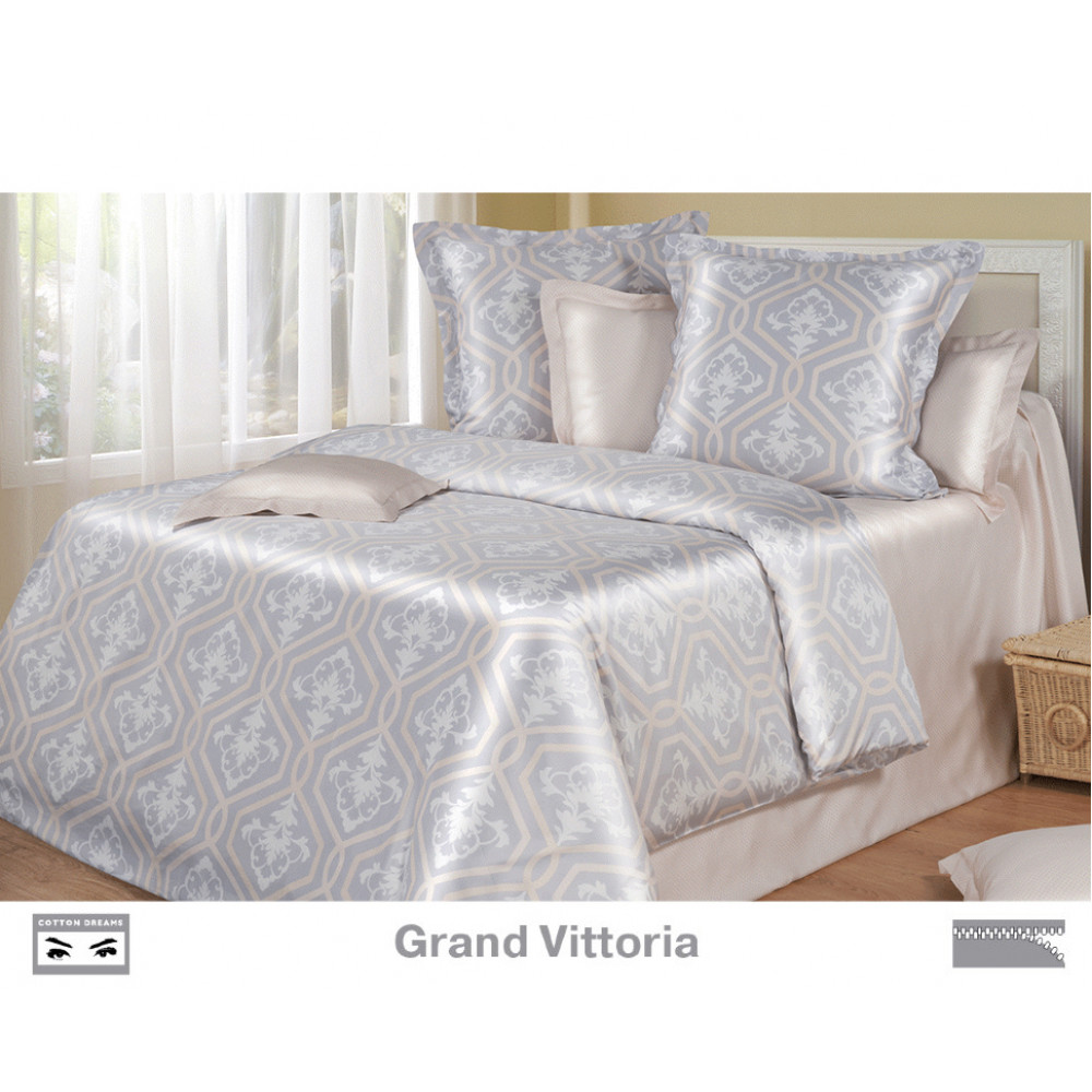 Cotton Dreams «Grand Vittoria» евро макси (king size) с наволочками 50x70