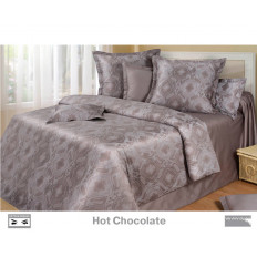 Cotton Dreams «Hot Chocolate» евро макси (king size) с наволочками 70x70