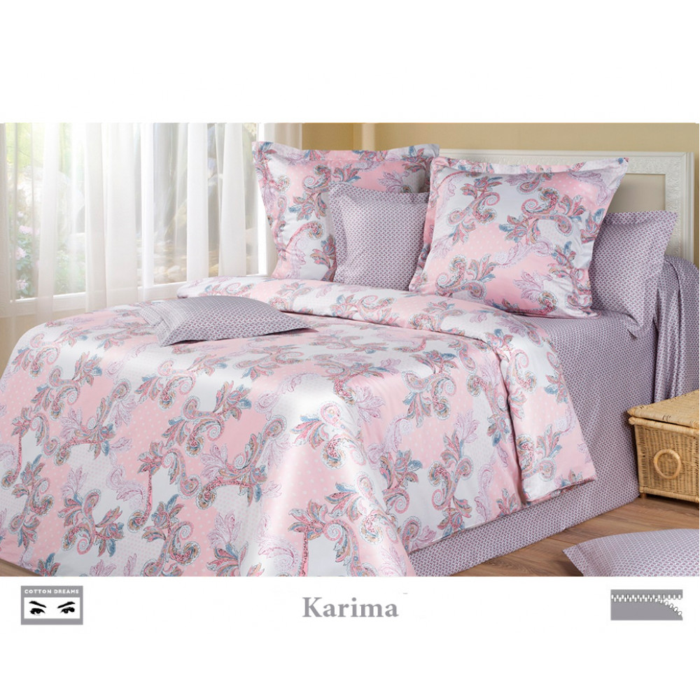Cotton Dreams «Karima» евро макси (king size) с наволочками 70x70
