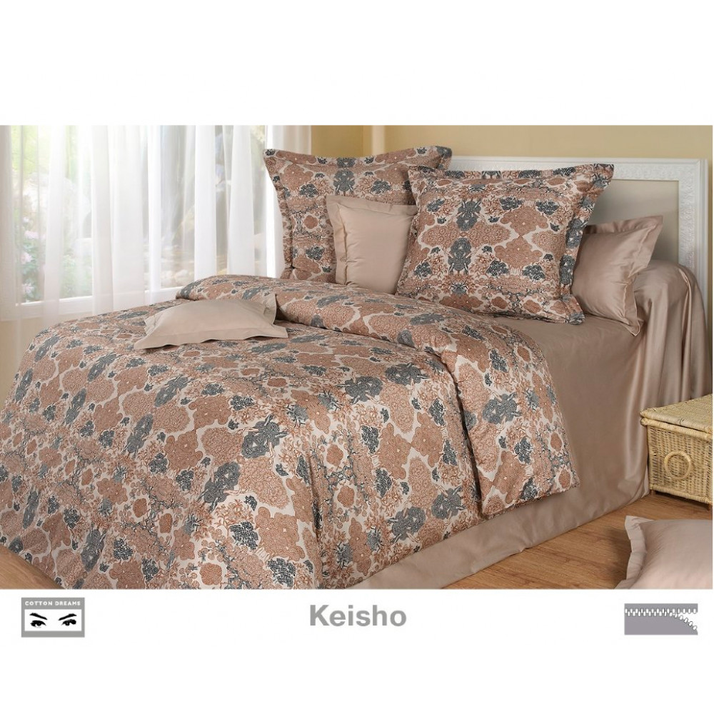 Cotton Dreams «Keisho» евро макси (king size) с наволочками 70x70