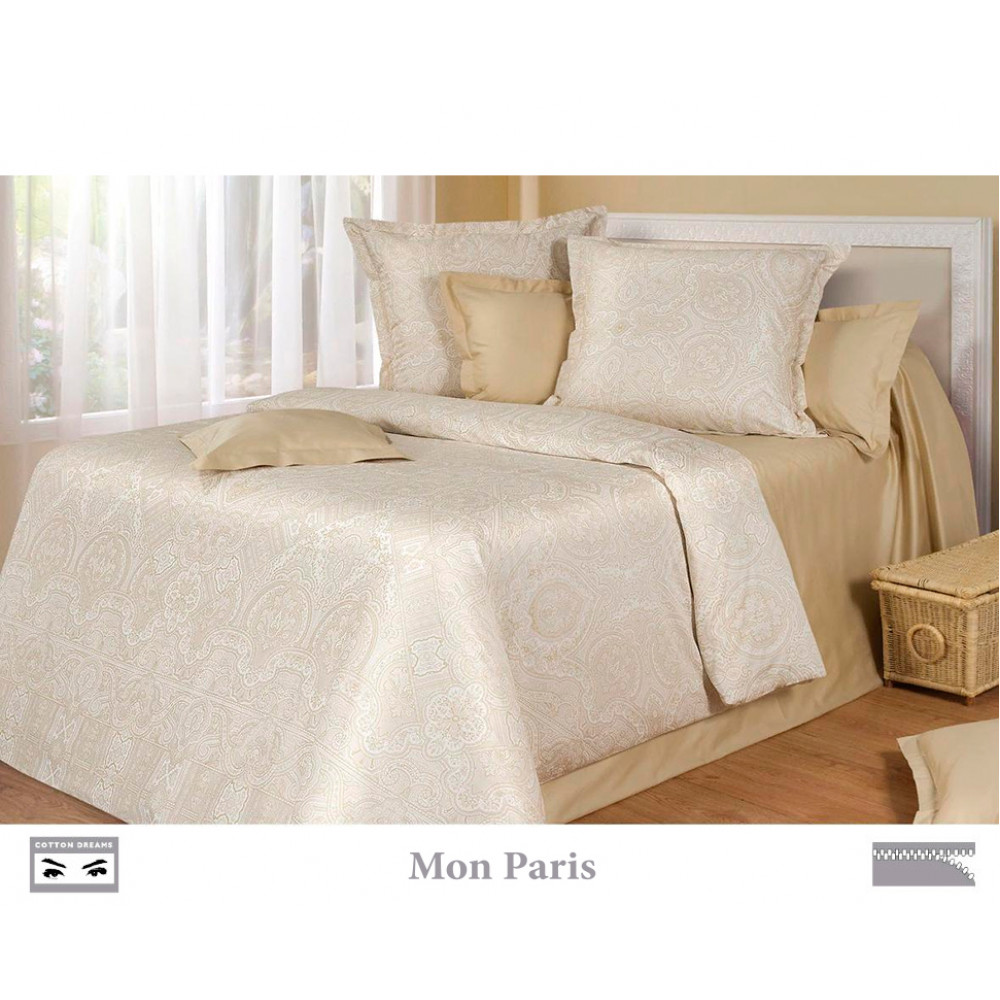 Cotton Dreams «Mon Paris» евро макси (king size) наволочками 50x70