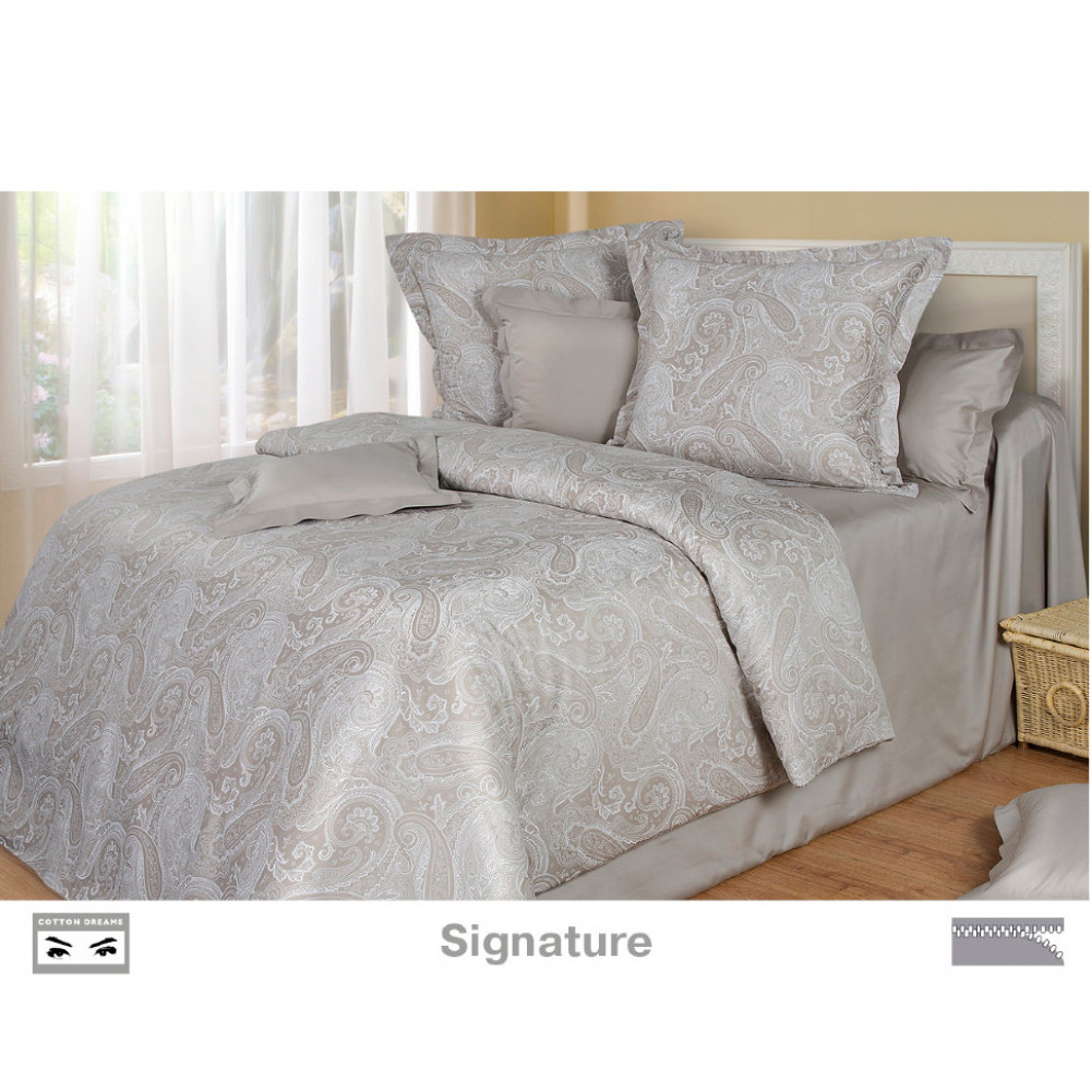 Cotton Dreams «Signature» евро макси (king size) с наволочками 70x70