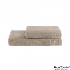 Полотенце Soft Cotton лицевое «Bambu» 50x100 бежевый
