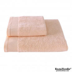 Полотенце Soft Cotton лицевое «Bambu» 50x100 персиковый