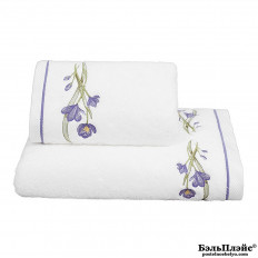 Полотенце Soft Cotton лицевое «Blossom» 50x100 лиловый
